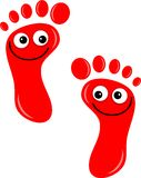 ноги счастливые Стоковые Фотографии RF