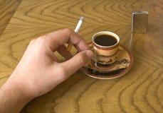 香烟现有量 库存照片