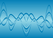 волны энергии Стоковая Фотография
