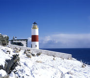 маяк Шотландия Стоковые Фото