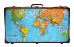 手提箱旅行 库存图片