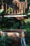 喷泉水 免版税库存照片