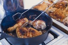 зажаренный цыпленок Стоковые Фото