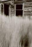 老农厂房子 免版税库存照片