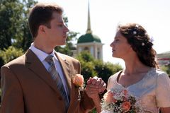 γάμος ζευγών Στοκ Εικόνες