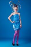 κορίτσι καρναβαλιού Στοκ εικόνες με δικαίωμα ελεύθερης χρήσης