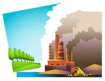 относящое к окружающей среде разделение Стоковые Фотографии RF