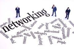 δικτύωση επιχειρηματιών Στοκ Εικόνες