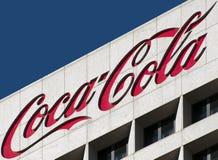 可口可乐总部设世界 免版税库存照片