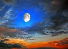 φεγγάρι Στοκ Εικόνα