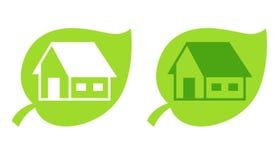 логос дома Стоковая Фотография