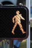 прогулка знака Стоковые Фотографии RF