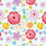 флористическая картина безшовная Стоковое фото RF