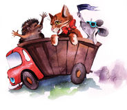 滑稽的宠物 免版税图库摄影