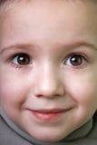 子项微笑的一点 免版税库存图片