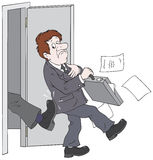 прекращение занятости подряда Стоковые Фотографии RF