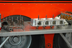 инструменты блока головные Стоковое фото RF