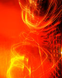 抽象红灯背景 免版税库存图片