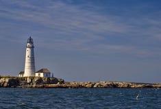波士顿灯塔 免版税图库摄影