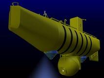 подводная лодка глубокого моря Стоковые Изображения