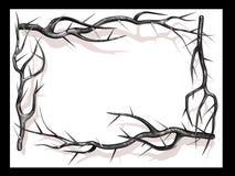 рамка ветви Стоковые Фото