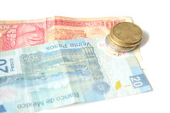 мексиканец валюты Стоковое фото RF