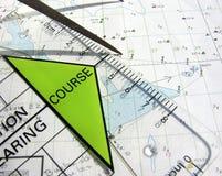 навигация курса Стоковые Изображения RF