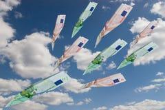 самолет-истребители евро Стоковые Изображения RF