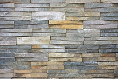 стена шифера каменная Стоковые Фото