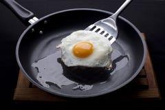 зажаренное яичко Стоковое фото RF