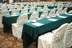 会议内部空间 免版税库存图片