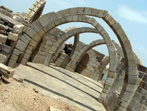 被成拱形的结构 库存图片