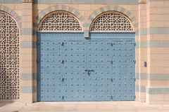 阿拉伯门样式 免版税库存图片