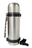 钢热水瓶 免版税库存图片