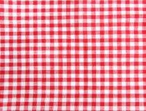 布料野餐无缝的表 库存照片