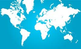 составьте карту мир Стоковая Фотография