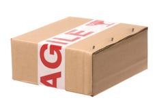 лента коробки утлая Стоковое фото RF