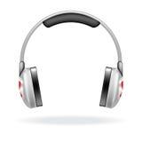 耳机向量 免版税库存图片
