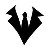 черный костюм дела Стоковая Фотография