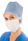女性外科医生 库存照片