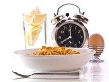 早餐时间 免版税库存图片