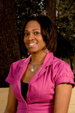 Чернокожая женщина Стоковое Изображение RF