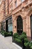 伦敦老连栋房屋 免版税库存照片