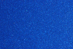 蓝色金属油漆 免版税库存照片
