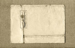 κάρτα καμβά Στοκ φωτογραφία με δικαίωμα ελεύθερης χρήσης