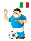 μασκότ της Ιταλίας ποδοσ Στοκ Εικόνες