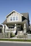 家庭房子新的住宅 图库摄影