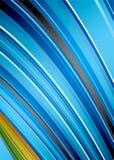 абстрактная забастовка радуги Стоковое Изображение RF