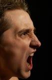 агрессивныйый человек Стоковые Изображения RF