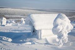 Финляндия Лапландия Стоковое Изображение RF